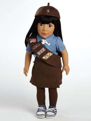 Ava, Brownie Girl Scout