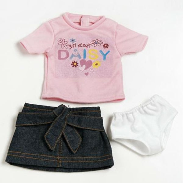 Daisy Girl Scout T-Shirt Outfit