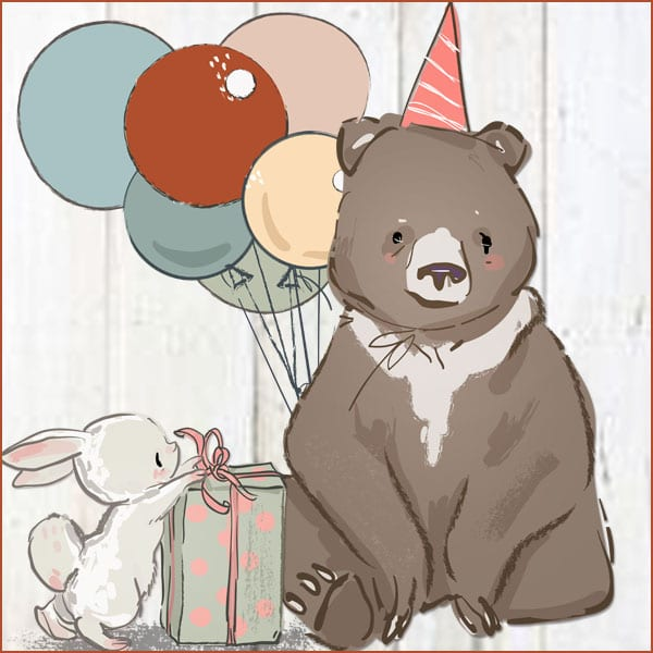 Charlie Birthday Bear 2018
