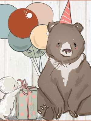 Charlie Birthday Bear 2018