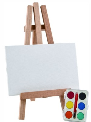 Chloe Easel Painting Set