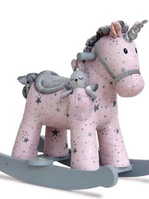 Celeste & Fae Rocking Unicorn
