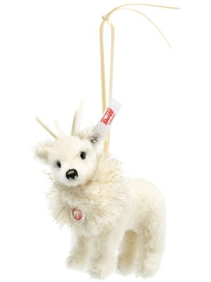 Winter Reindeer Ornament with Swarovski Crystal