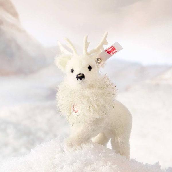Winter Reindeer Ornament with Swarovski Crystal