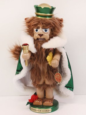 Cowardly Lion Nutcracker