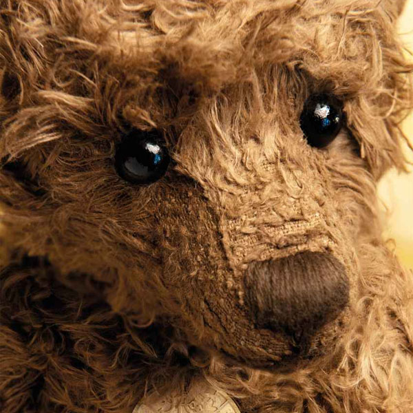 """""""Hansel"""" Vegan Hemp Plush Teddy Bear"""