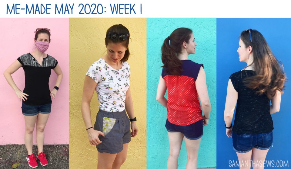 me-made may 2020: week 1 at samanthasews