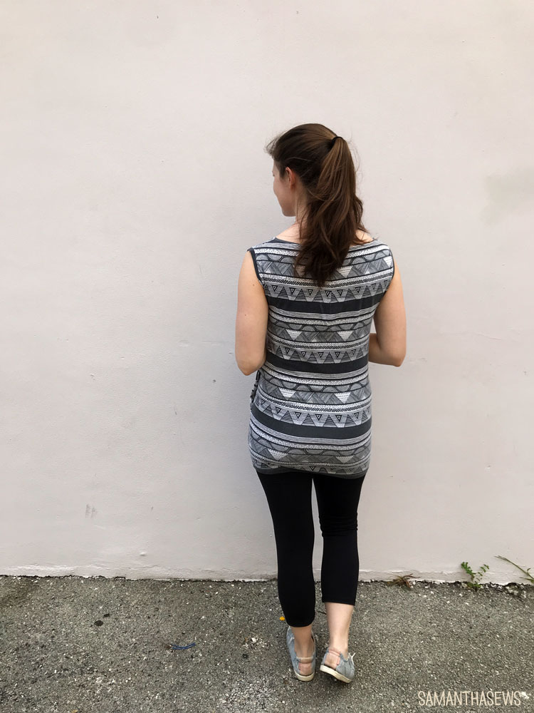 Me-Made May: refashioned knit dress