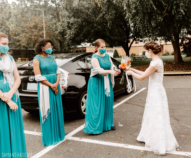 DIY wedding flowers - samanthasews blog