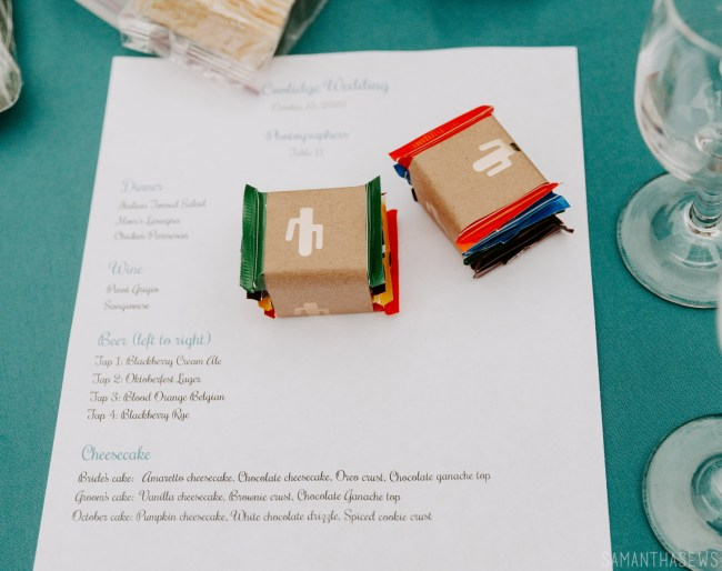 DIY wedding favors - eco-friendly