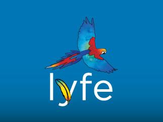 Lyfe brand identity design