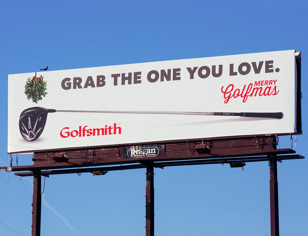 Golfmas 2014 Billboard