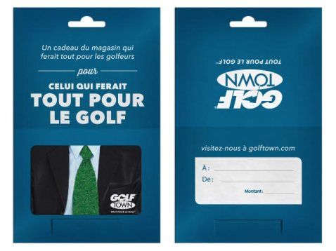 French Turf Tie gift card (Golf Town)