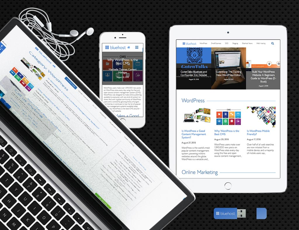 Bluehost Blog Theme