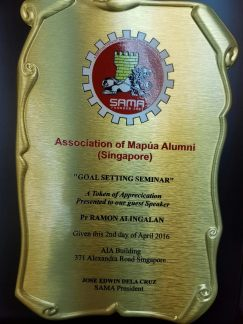 Plaque of Appreciation
