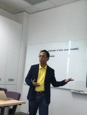 Guest speaker Paster Ramon Alingalan