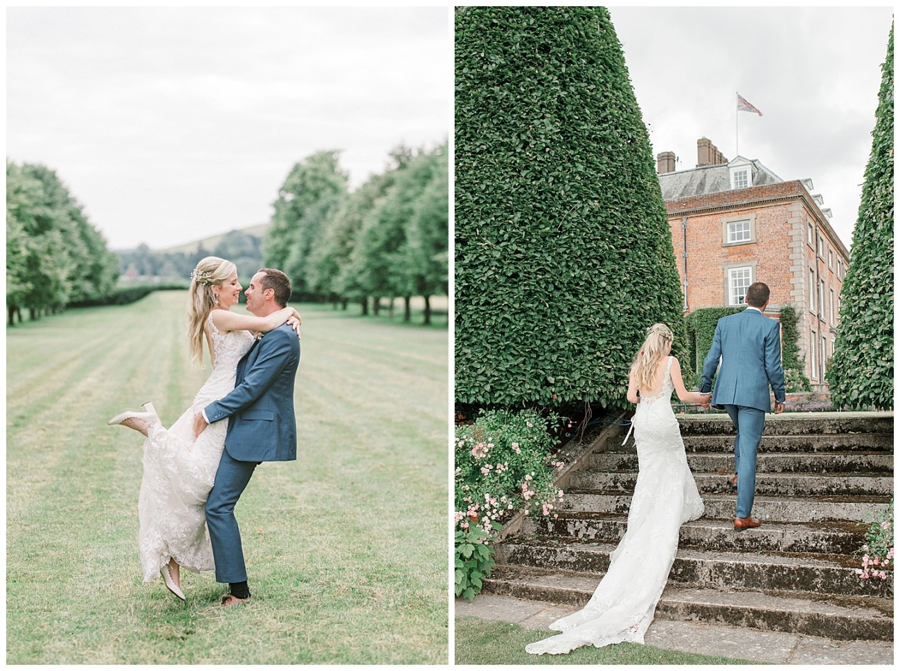 St Clere Estate - Kent England UK Garden Wedding