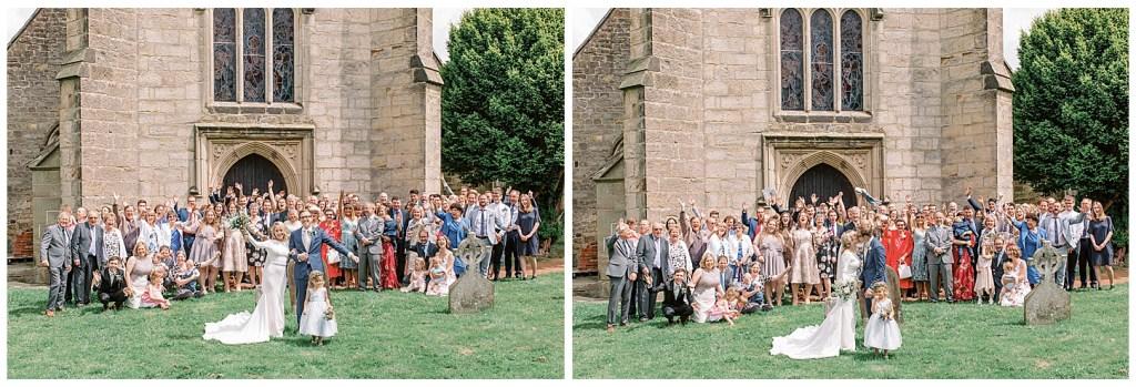 Chiddingstone Church Wedding