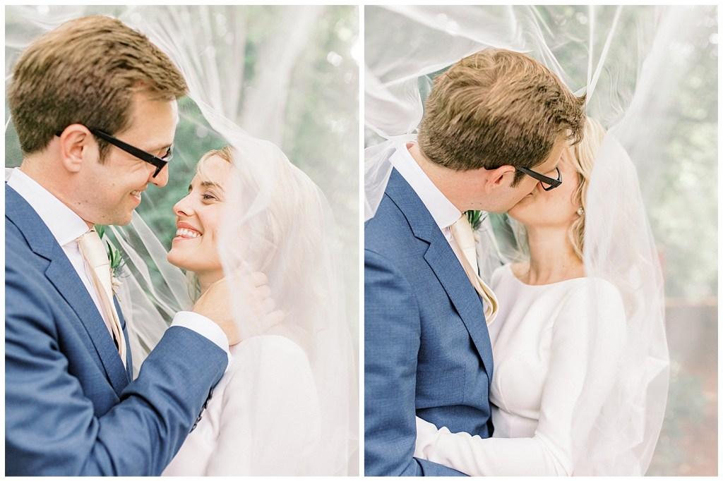Chiddingstone Castle Wedding - Mikaella Bridal - Sara Gabriel Veils - Johnnys Little Sister Florist - Sam Areman Photo