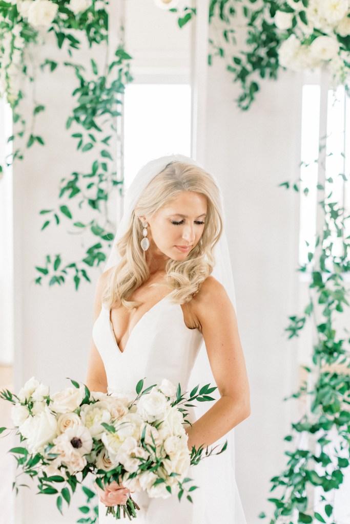 Bride at the Kimpton Cottonwood Hotel in Omaha
