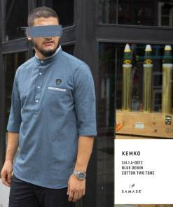 kemko-3-4-a0072-blue-denim-cotton-two-tone_2