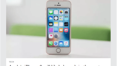 एपल आईफोन ९ अब ५ दिन भित्र बजारमा आउने