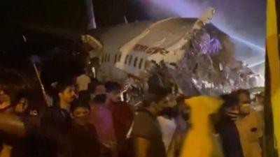 Kerala plane crash: Air India plane breaks in two at…