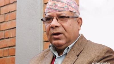 यही साता सरकारमा जाँदैछौँ : अध्यक्ष नेपाल