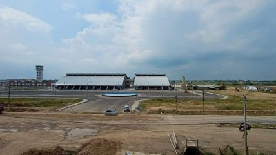 गौतमबुद्ध विमानस्थलको भौतिक संरचना निर्माण याेजना अन्तिम चरणमा