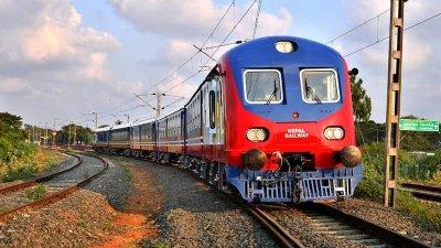 यसरी आयो जनकपुरमा नेपाली रेल (फोटो फिचर)