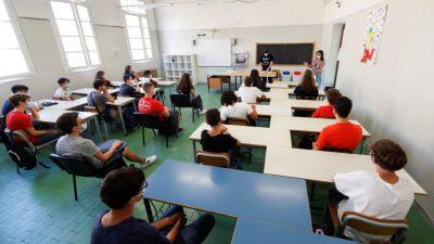 सात महिनापछि इटालीमा विद्यालयहरु खुले