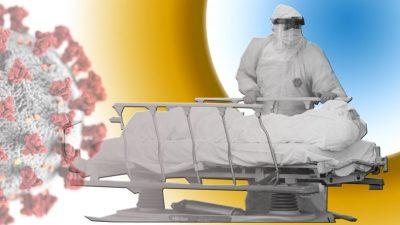 कोरोना भाइरसको संक्रमणबाट थप १८ जनाको मृत्यु