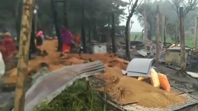 सुनसरीको ६ वटा घरमा आगलागी हुँदा डेढ करोड बढीको क्षति