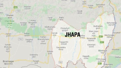 Jhapa village across Mechi river illuminated for first time
