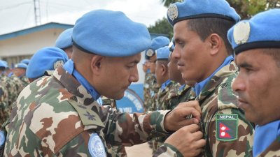 Five facts about Nepal's 'blue helmets' in UN-peacekeeping missions