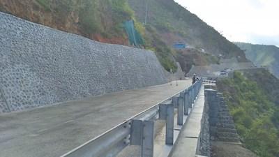 BP Highway being repaired