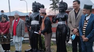 आज अयोध्यापुरीमा राम–सीताका मूर्ति प्रतिस्थापन गरिँदै