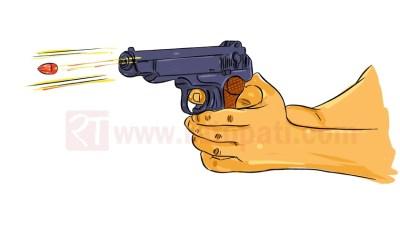 अज्ञात व्यक्तिद्वारा कपिलवस्तुमा माओवादी नेतामाथि गोली प्रहार