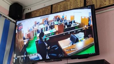 प्रतिनिधिसभा विघटन मुद्दा संवैधानिक इजलासमा बहस जारी