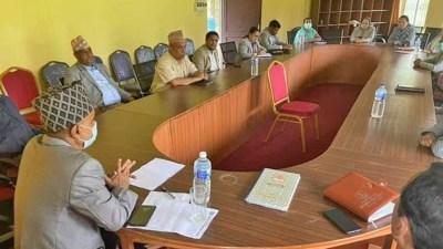 कर्णालीमा एमालेले नीति तथा कार्यक्रमको विपक्षमा मतदान गर्दै