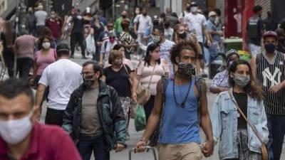 Brazil registers 18 mln COVID-19 cases