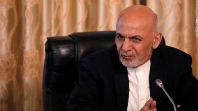 अफगानी पूर्व राष्ट्रपति घानी सरण खोज्दै दुबहीमा
