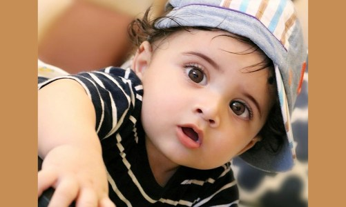 Babyaggu – the cutest baby on gram