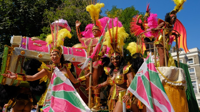 paraiso school of samba in notting hill carnival 2019