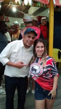 Hernane Siqueira e Rache Waknin