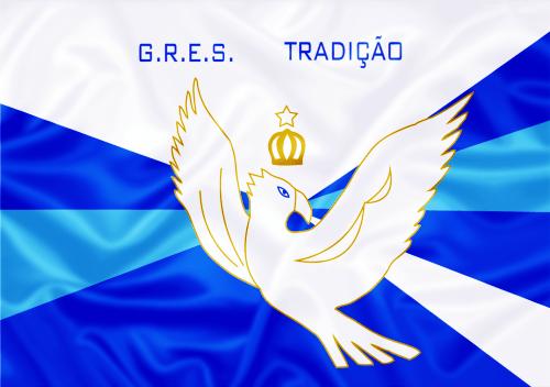 Bandeira_do_GRES_Tradição