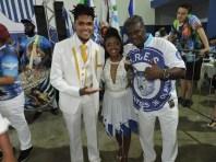 Primeiro Casal da Portela e Vice presidente da Independentes