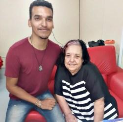 Diretor de Carnaval Matheus Rodrigues e e Rosa magalhães