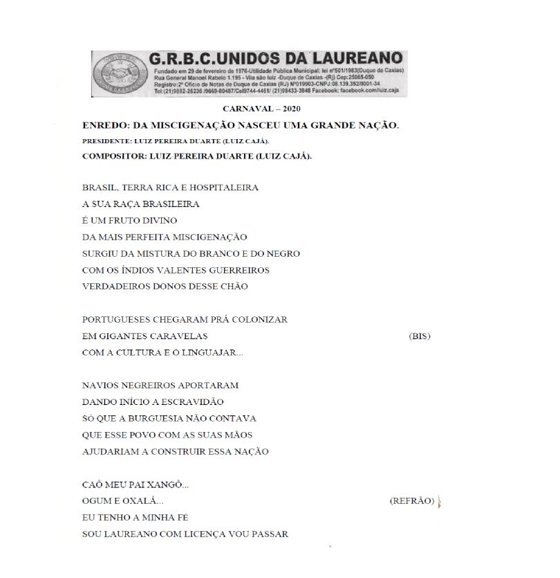 05 - Unidos da Laureano