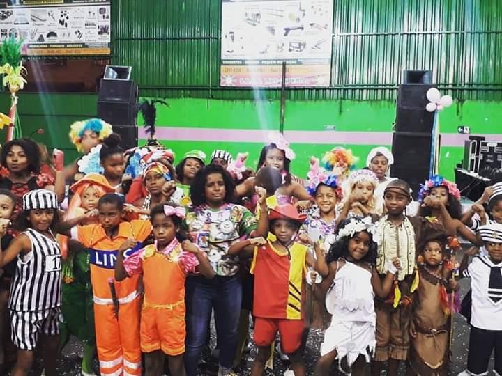 erica e as crianças